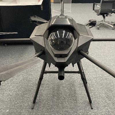 无人机灭火系统